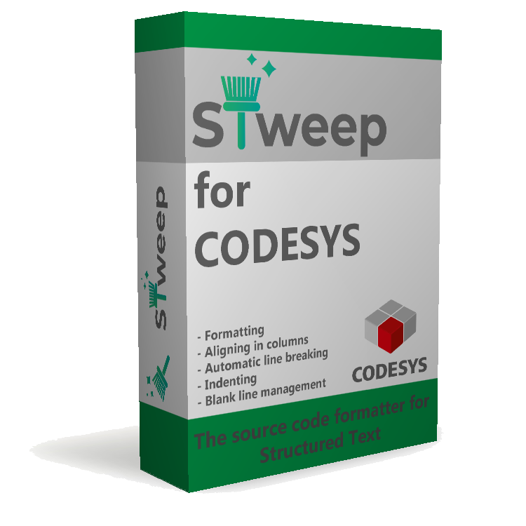 STweep for CODESYS product box