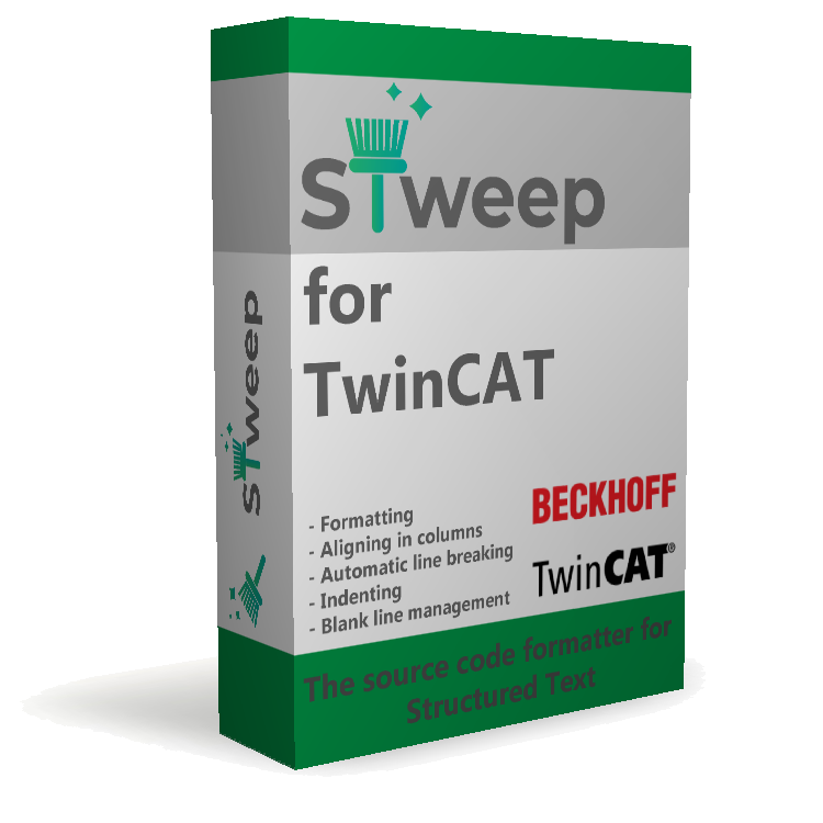 STweep for TwinCAT product box
